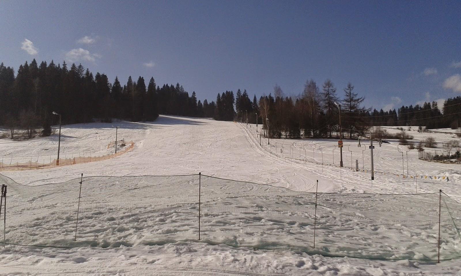 Wyciąg narciarski Zebra w Białce Tatrzańskiej