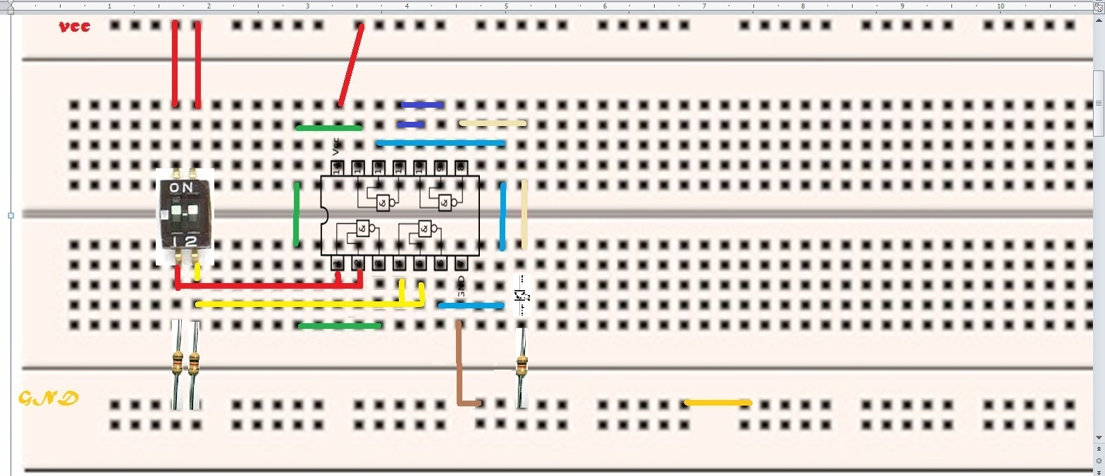 Circuito Nand : Colombia asociation enginner´s mechatronics diseño de circuitos