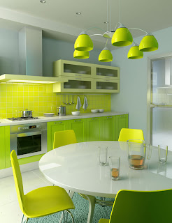 modern green kitchen cabinets pictures