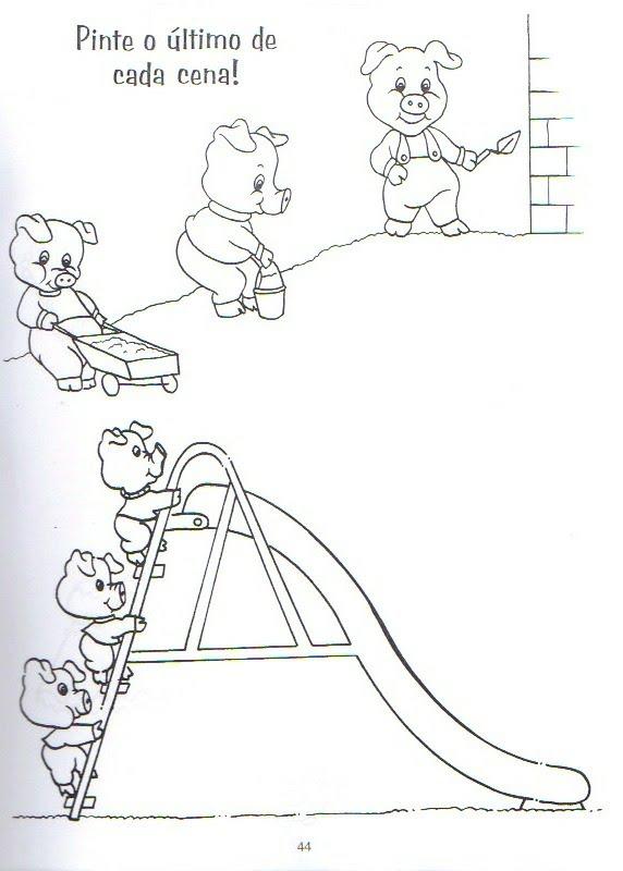 Atividades Os três porquinhos