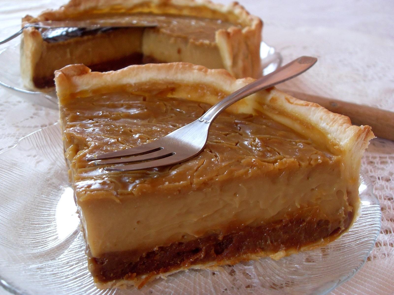 Ma cuisine v g talienne tarte au flan caramel pain d for Amande cuisine bjorg