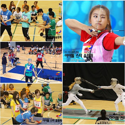 with english subtitles: 2012 Idol Star Olympics E01 English subs
