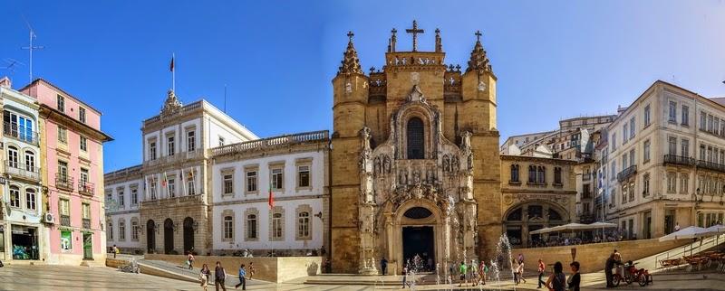 Resultado de imagen de monasterio santa cruz coimbra