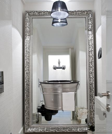 Decora hogar los espejos tus mejores aliados en la - Espejo grande pared ...