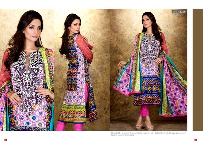 VIP Lawn Collection for Eid Festive