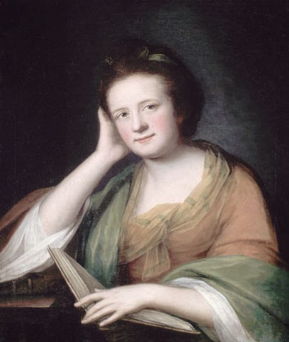 Frances Brooke by Catherine Read, 1771