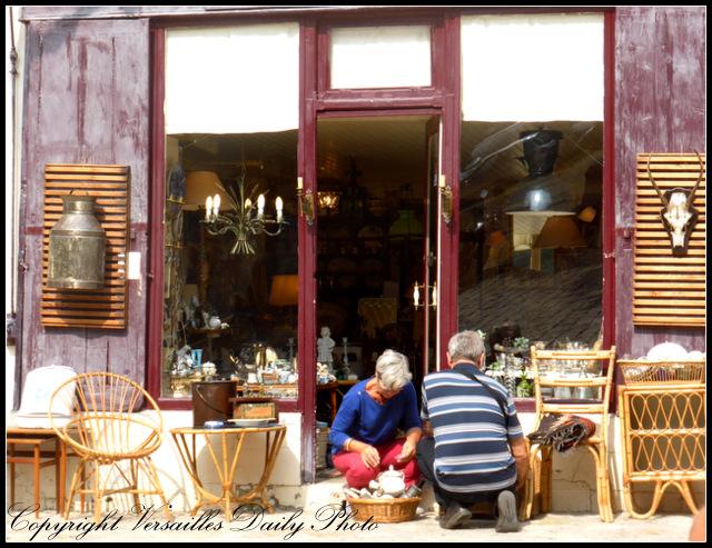 Les curiosités shop Versailles