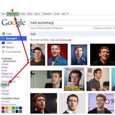 ricerca-volti-google