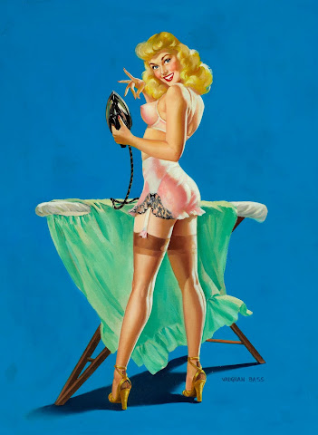 Vaughan Alden Bass pin up