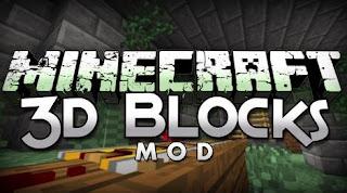 [Mods] Minecraft Blocks 3D Mod 1.6.4/1.6.2