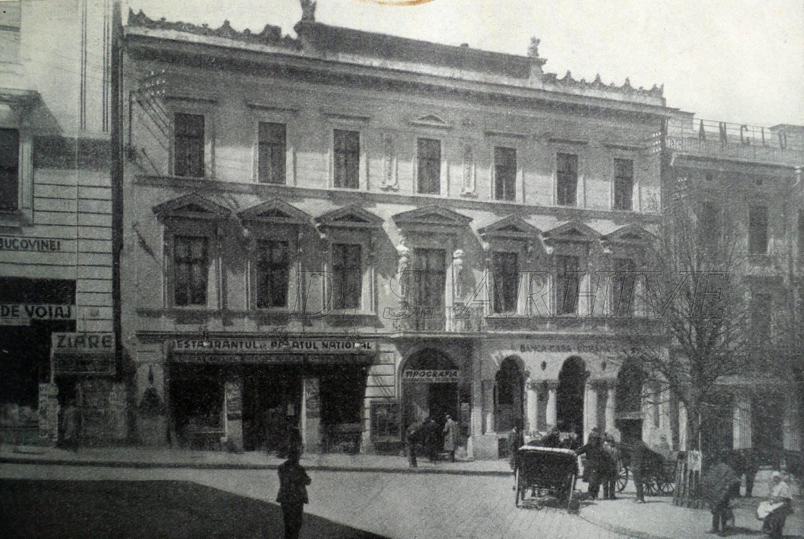 Stilul arhitectural neorom nesc banca casa rom n s a for Banca in casa