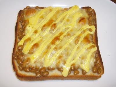 納豆トースト