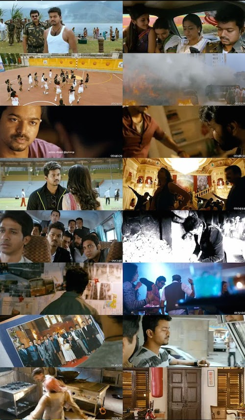 Thuppakki (2012) Hindi Dubbed 480p BRRip 500mb