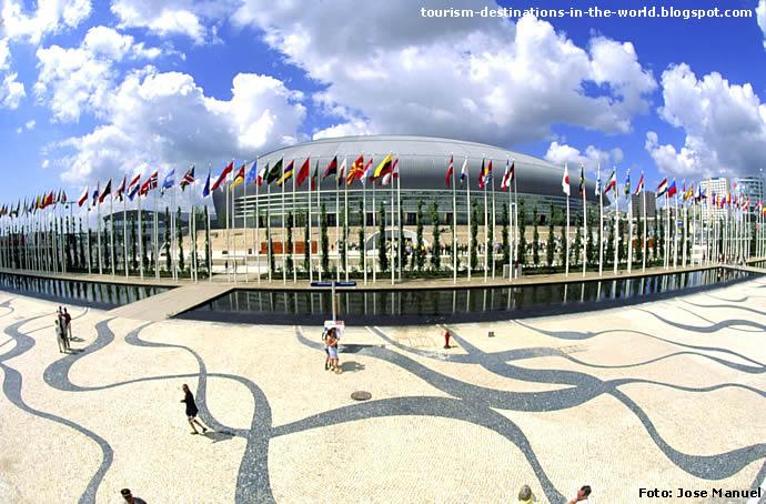 Lisboa, Portugal - Pavilhão Atlantico, Parque das Nações