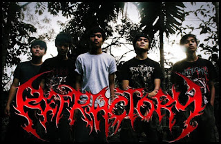 Refractory Band Deathcore Pekanbaru Riau Foto Logo Artwork Wallpaper