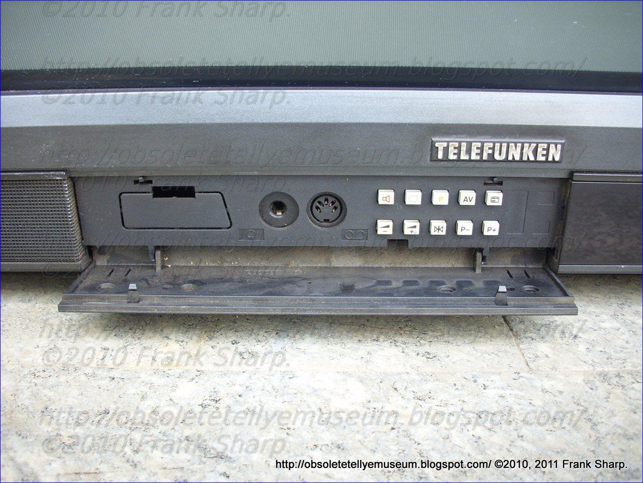 Obsolete Technology Tellye !: TELEFUNKEN PALCOLOR HIFI 292 ...