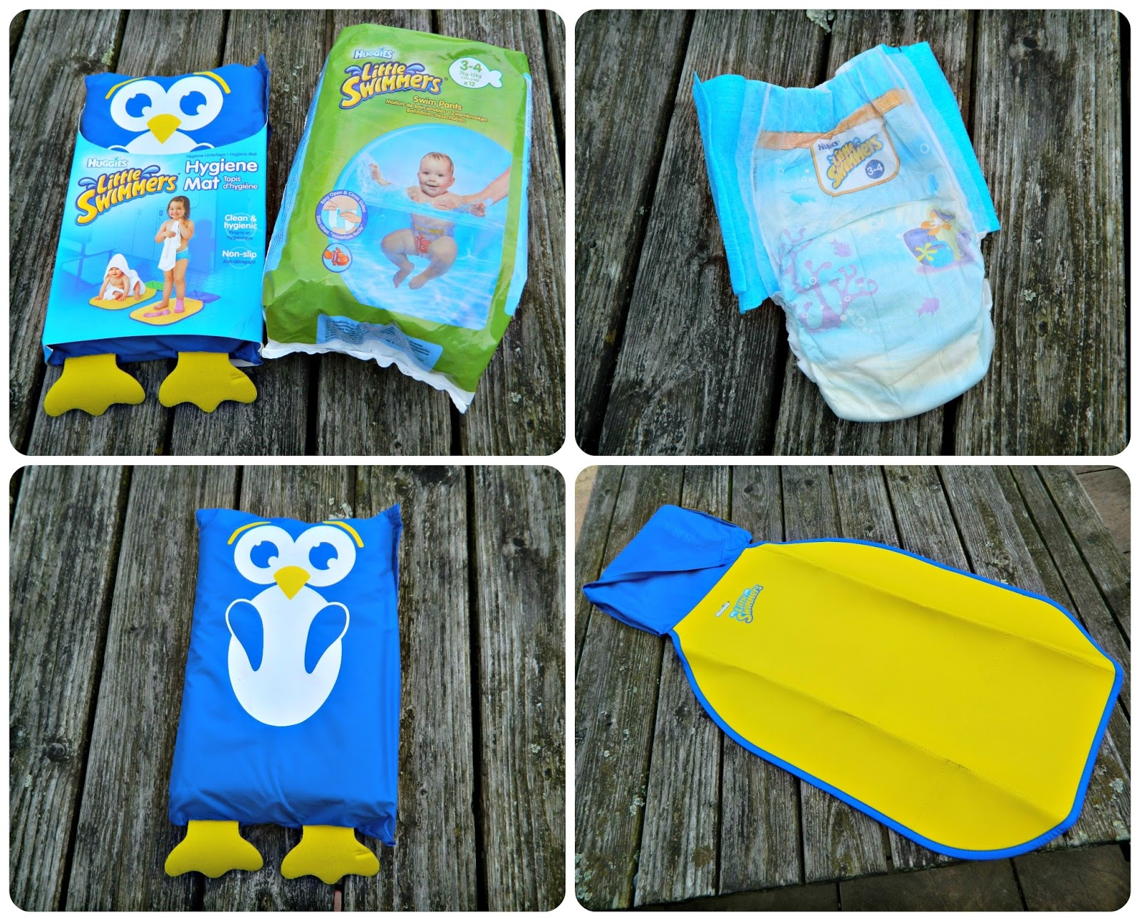 Huggies Little Swimmers Swim nappies and Hygiene Mats