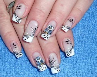 Uñas decoradas - decoraciones de uñas - diseño de uñas con gel