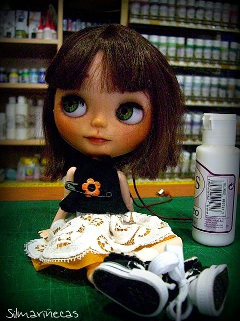 Basaak doll en MAM Basauri