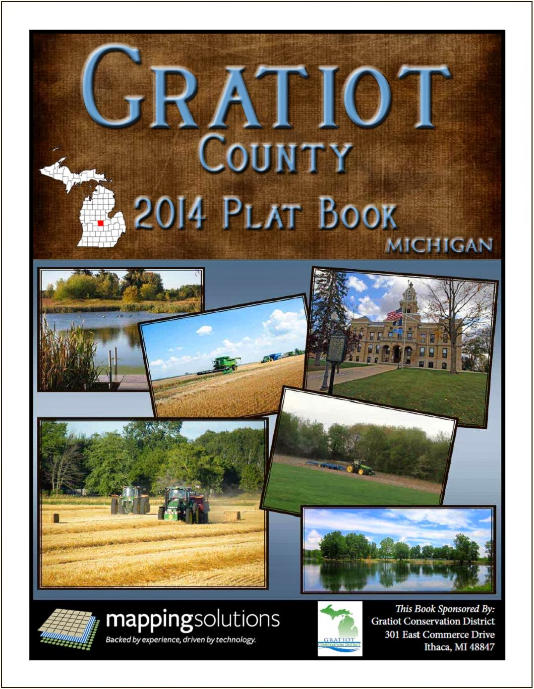 Michigan gratiot county breckenridge - Gratiot Conservation District Now Has The 2014 Gratiot County Plat Book Available For Sale