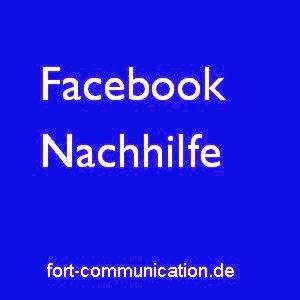 Facebook-Nachhilfe
