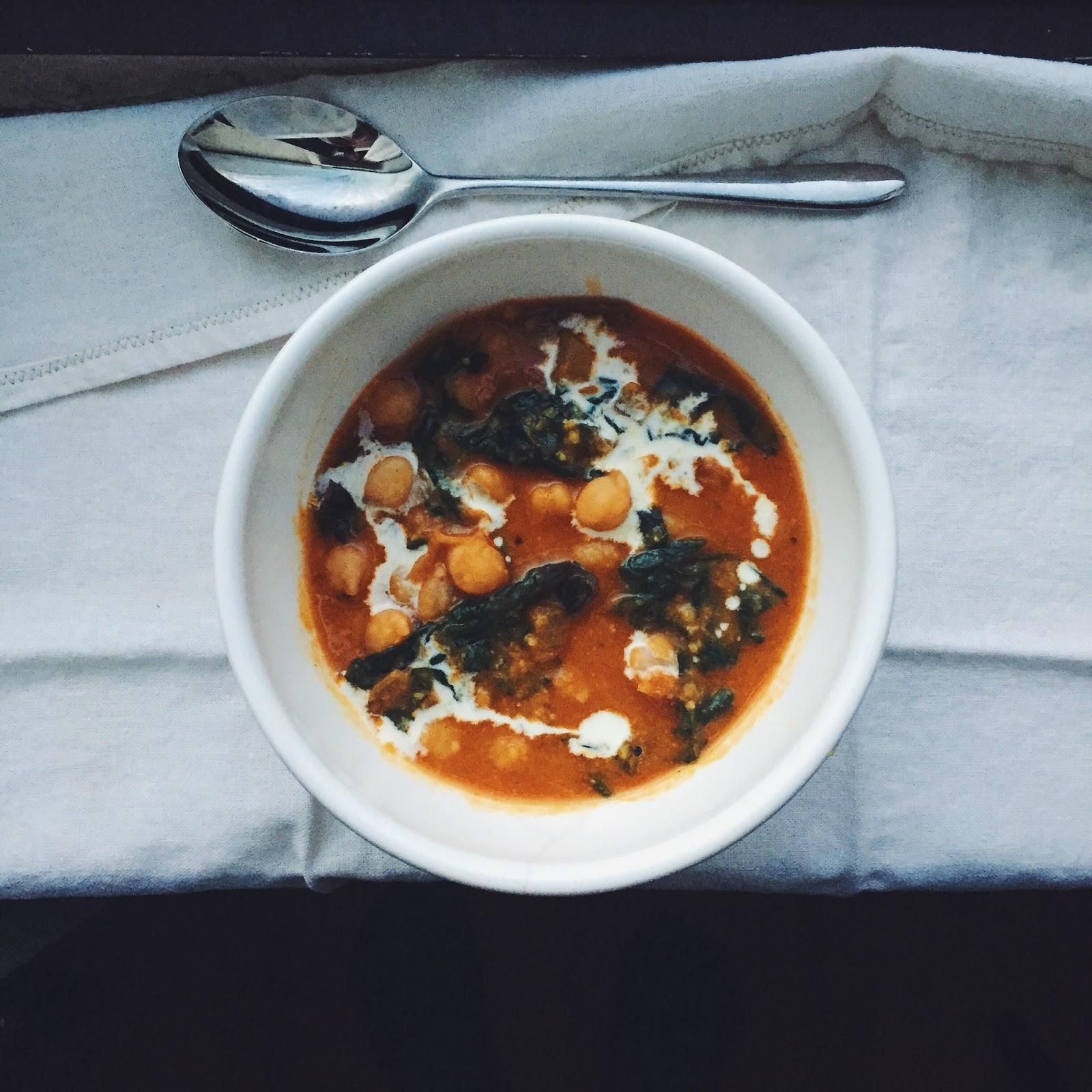 amour fou(d): chickpea stew with tomato, tumeric, yogurt ...
