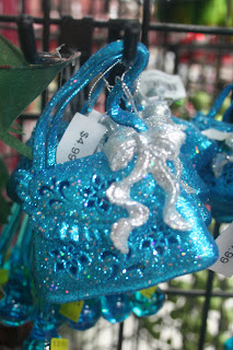 Blue Purse Ornament