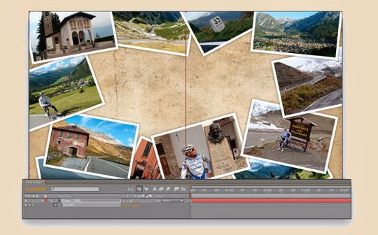 A Photo Montage with After Effects
