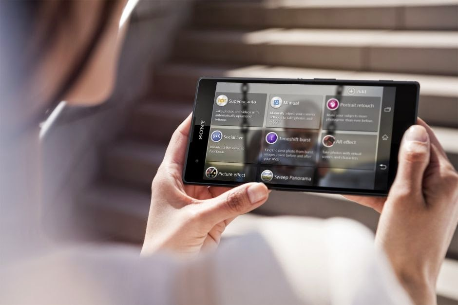 Cara Mengubah Tampilan Status Bar & Navigation Bar Sony Xperia T2 Ultra