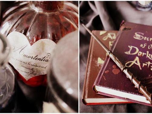 "[Magical October] ""Ich muss ganz dringend in die Bibliothek!"" Harry Potter Potion Book"