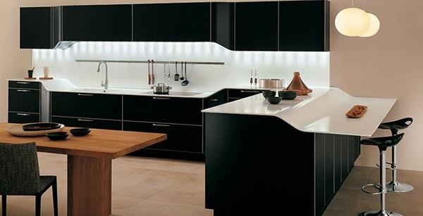 Modern Black Kitchen Cabinets, Modern kitchen designs  kitchen ideas