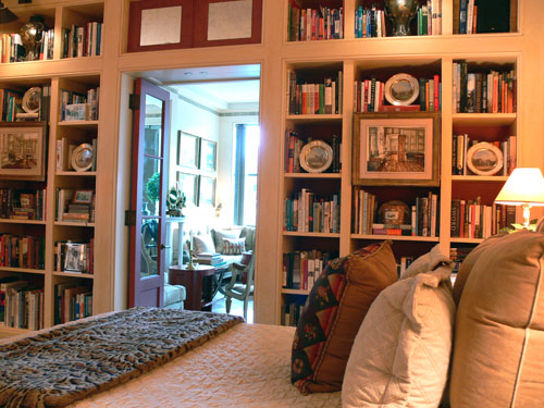 Bookshelves In The Bedroom   Yes Or No?