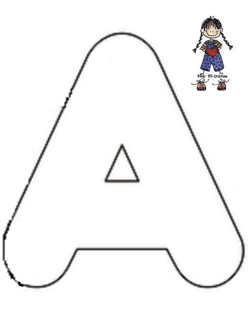 Conhecido Alfabetização: ALFABETO VAZADO AW54