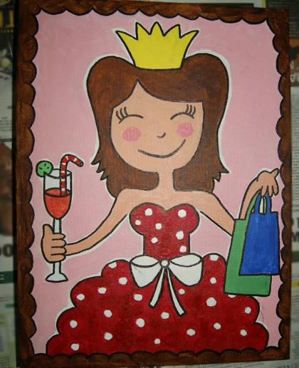 Pauline punt mijn nieuwste schilderij animatie - Schilderij kamer jongen jaar ...