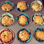 Cheese and Wild Garlic Muffins