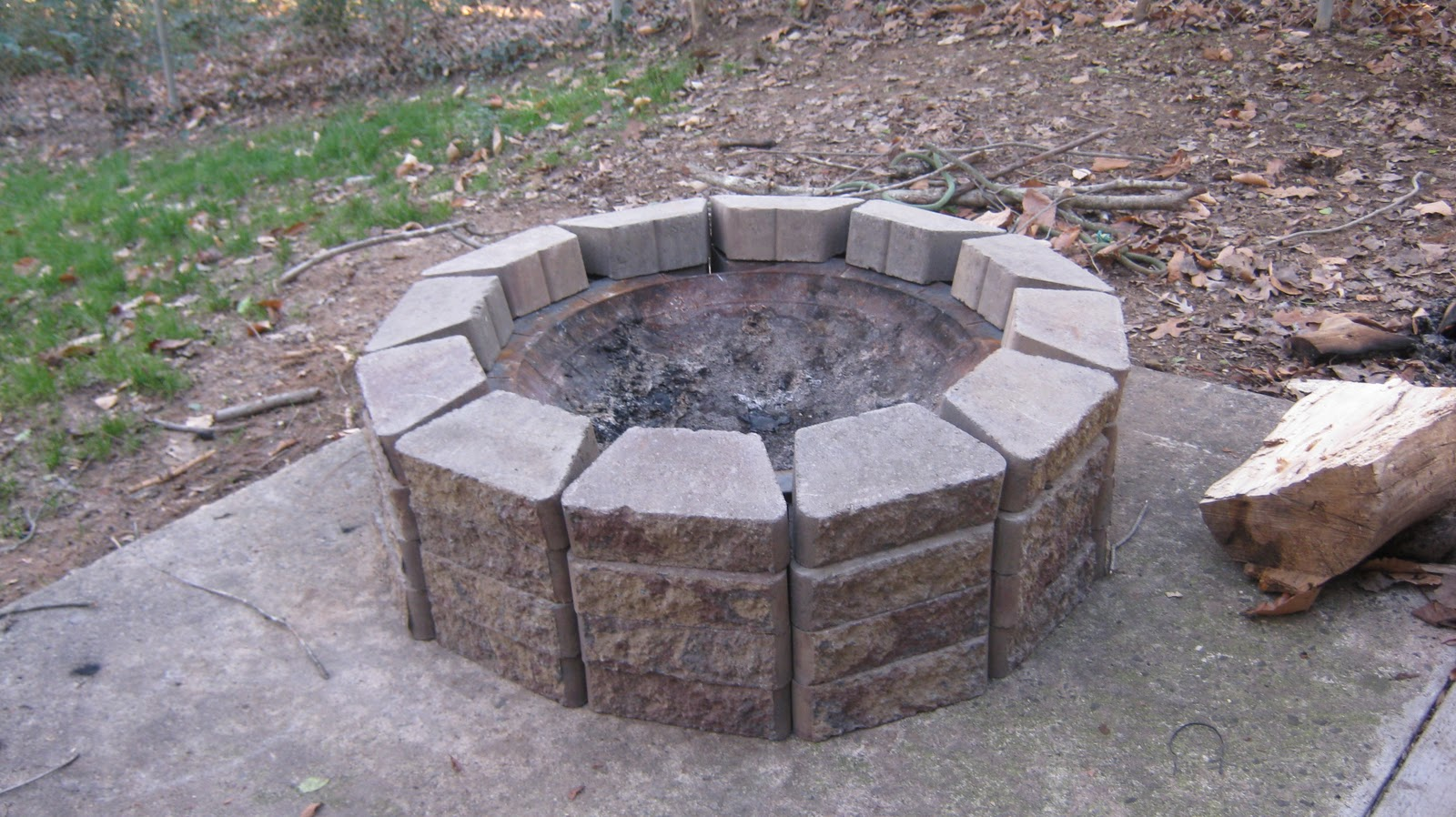 my everyday exceptional diy making a patio fire pit