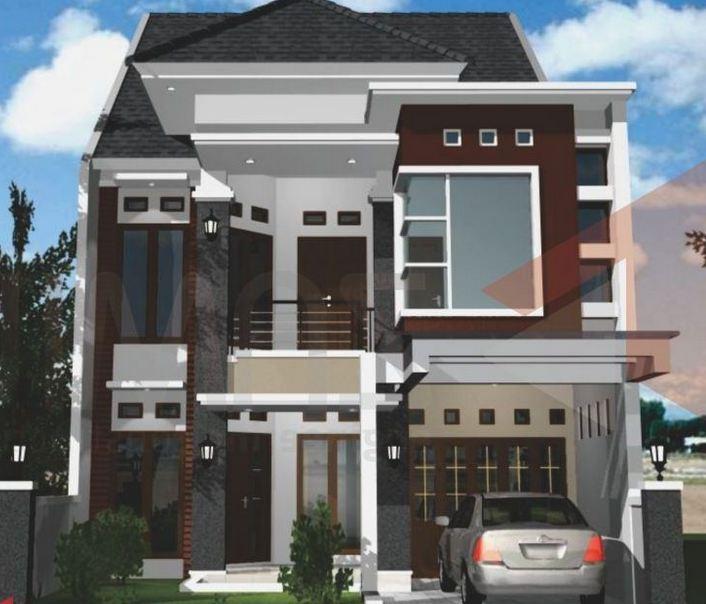 model rumah minimalis 2 lantai software terbaru