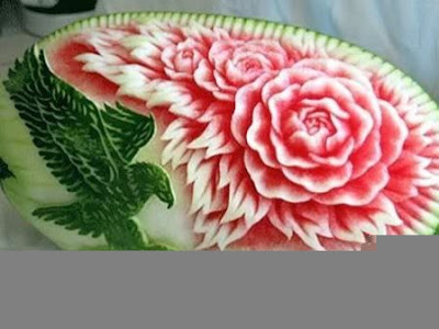Fruit Carving Seni Mengukir Buah