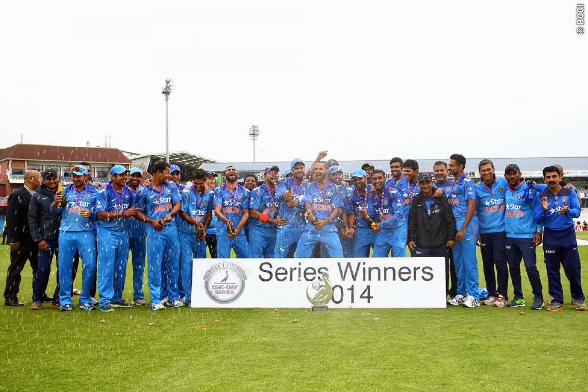 India-Won-Royal-London-ODI-Series-2014
