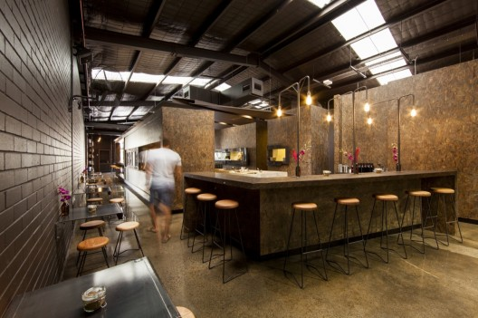 Kaper design restaurant hospitality design inspiration for Raw space architects