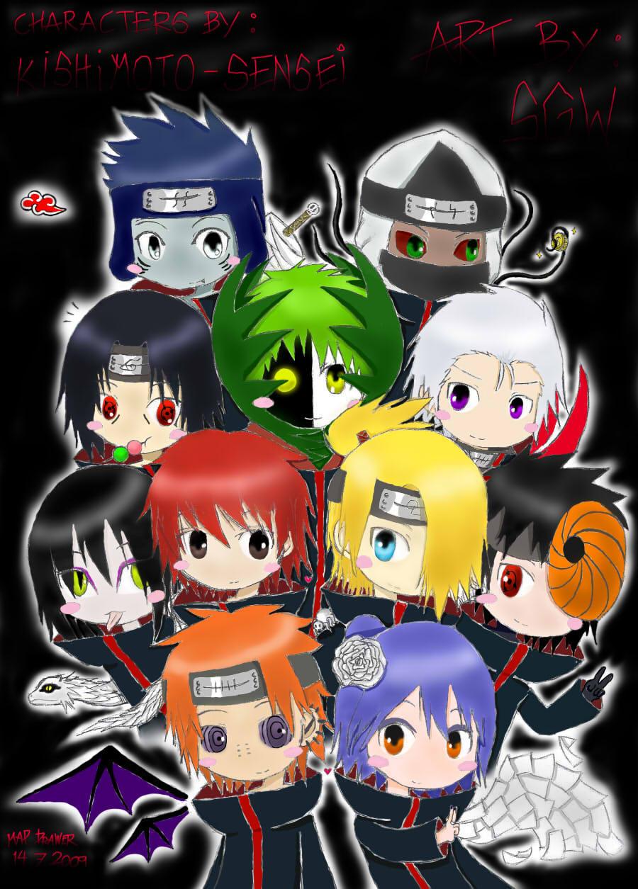 Amazing Wallpaper Naruto Akatsuki - Akatsuki+chibi+wallpaper  You Should Have_66913.jpg