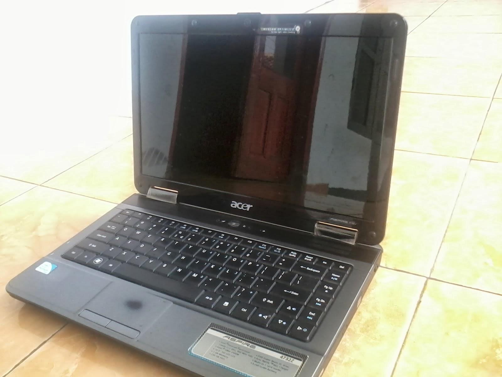Nginformasi Komputer Jual Bekas Laptop Acer 4732Z