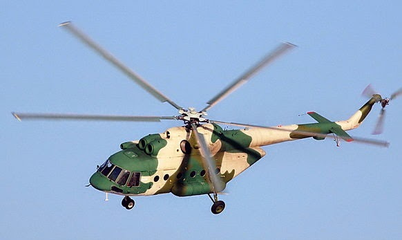 Mi-171E helicopters