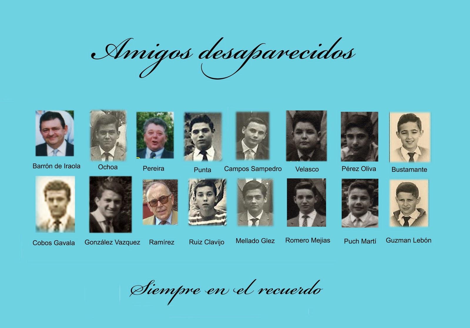 recuerdo de Pepe Ruesga , en nombre de todos, a los que se fueron
