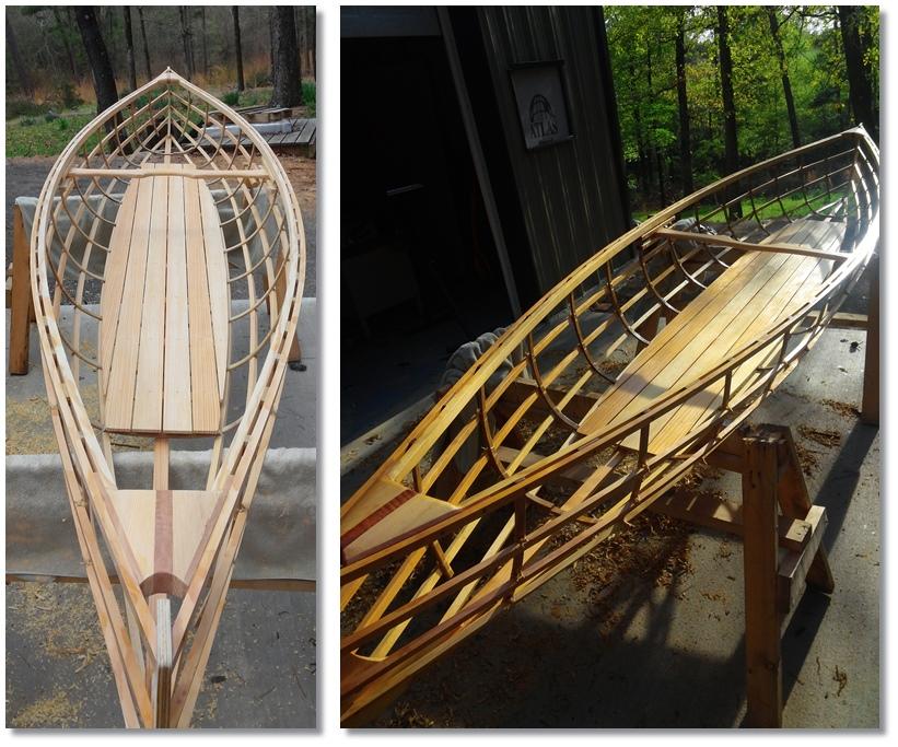 Venture Minimalists: Building a Skin on Frame Canoe