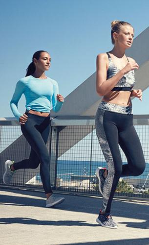 camisetas, tops y pantalones deportivos mujer Primark 2016