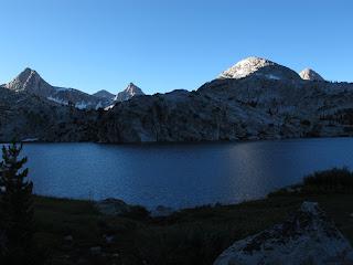 Morgenstimmung am Evolution Lake