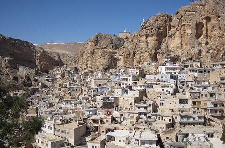 Syrian Christian town of Maaloula