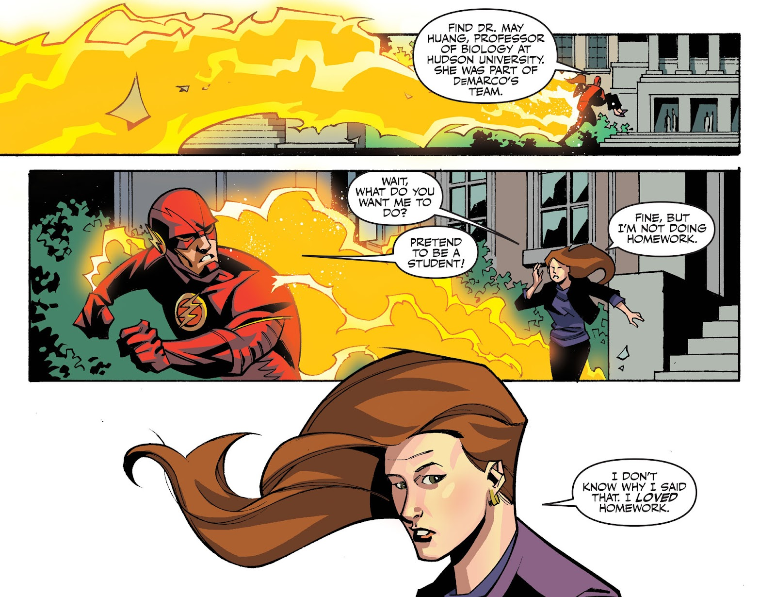 The Flash: Season Zero [I] Issue #12 #12 - English 12