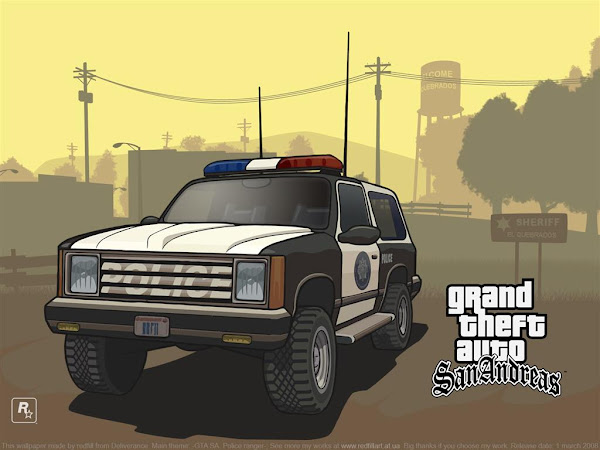#9 Grand Theft Auto HD & Widescreen Wallpaper